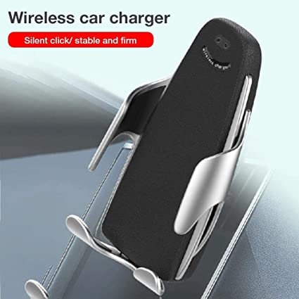 Qi Car Cell Phone Holder Charger, Cargador inalámbrico de ...