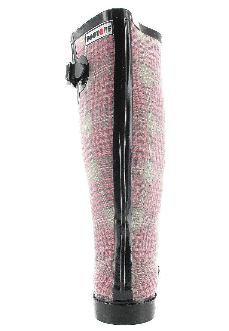 Intex Kautschuk-Gummistiefel in Übergrößen Rosa 14100 große Damenschuhe