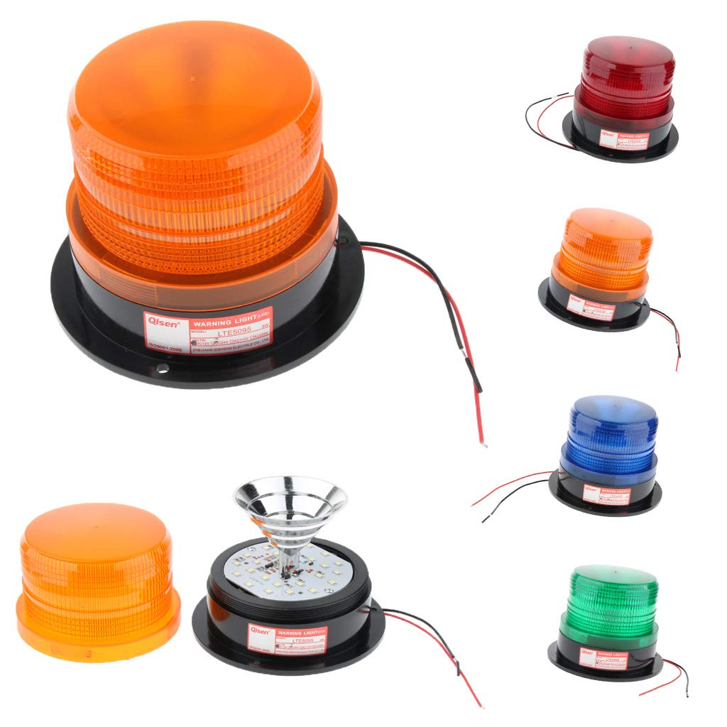 Green B Blesiya Warning Light LED Flashing Emergency Safety Strobe Beacon Light 4 Colors