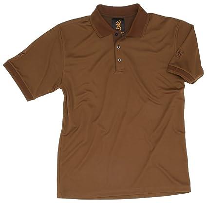 Browning Savannah Ripstop Polo, Unisex Adulto, Oliva, XXL