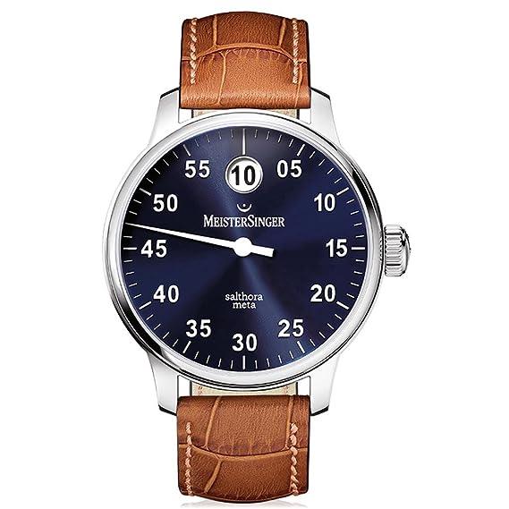 MeisterSinger reloj hombres automática Salthora Meta SAM908: Amazon.es: Relojes