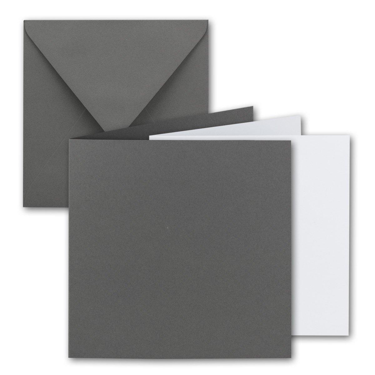 Quadratisches Falt-Karten-Set Falt-Karten-Set Falt-Karten-Set I 15 x 15 cm - mit Brief-Umschlägen & Einlege-Blätter I Royalblau I 75 Stück I KomplettpaketI Qualitätsmarke  FarbenFroh® von GUSTAV NEUSER® B07D4GPDGM | Die Farbe ist sehr auffällig  b95a85