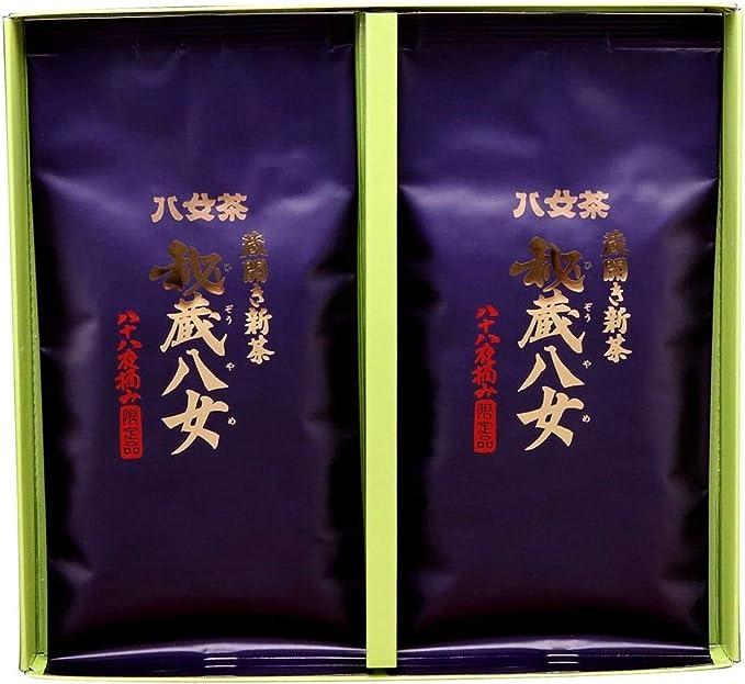 岩﨑園製茶 新茶 2020年産 福岡県産 八女茶 お歳暮 秘蔵八女 100g × 2袋 ギフト セット