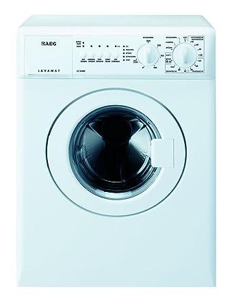 AEG LC53500 Waschmaschine Frontlader / Kompaktwaschmaschine mit 3 kg Trommel / kleiner Waschautomat mit Startzeitvorwahl / En