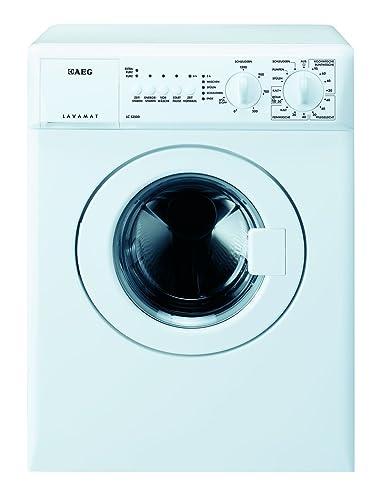 AEG LC53500 Waschmaschine Frontlader / Kompaktwaschmaschine mit 3 kg  Trommel / kleiner Waschautomat mit Startzeitvorwahl / Energieklasse A+++  (126 ...