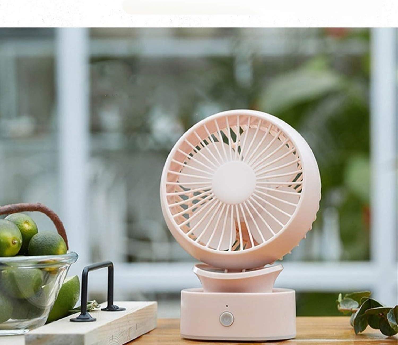 HAOXIONG-ZHANG Miniskirt Portable Fan USB Outside Personal Fans Summer 3 Gear Wind Electric Fan Electric Fan