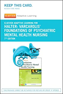 Elsevier Adaptive Quizzing For Halter Varcarolis Foundations Of