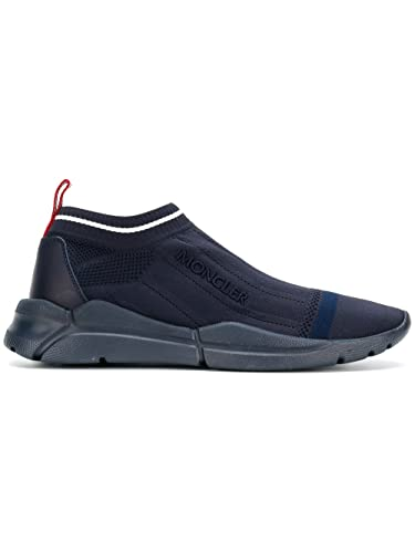 Moncler Herren 1028600019MP778 Blau Polyamid Slip on Sneakers