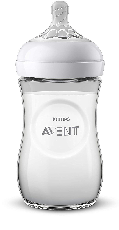 Philips Avent SCF070//21 Biberon Natural 260 ml motif Flamant 1 Mois+