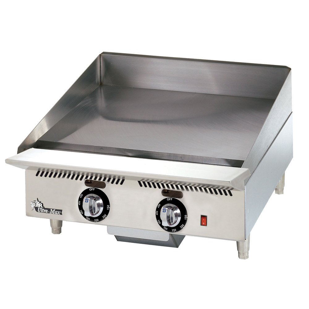 Star Mfg Ultra-Max Manual Control 24'' Gas Griddle