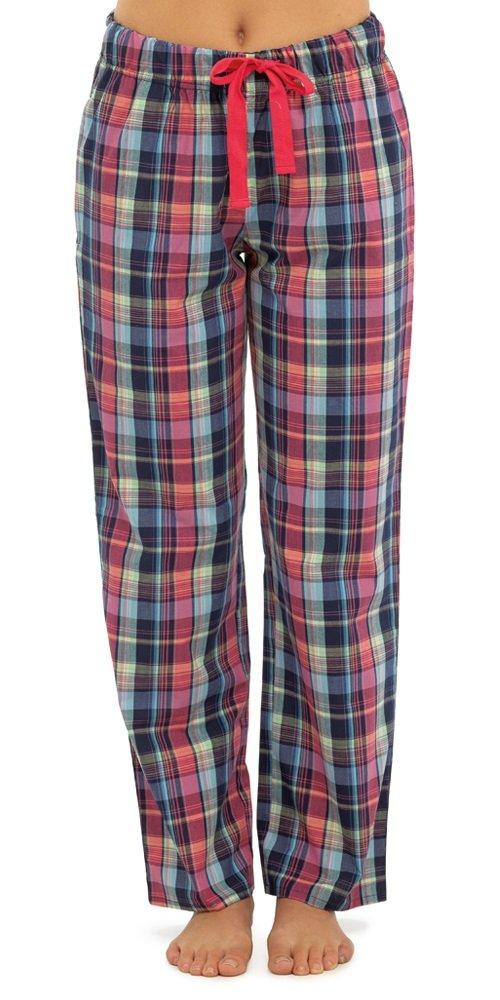Damen Frauen Tom Franks Karierte Pyjama Hose Schlafanzug LN330
