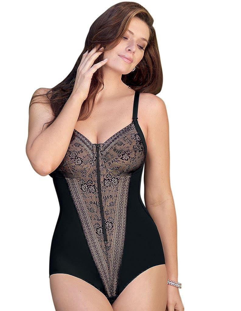 Anita Women's Front Zip Corselette 3555 3555-001