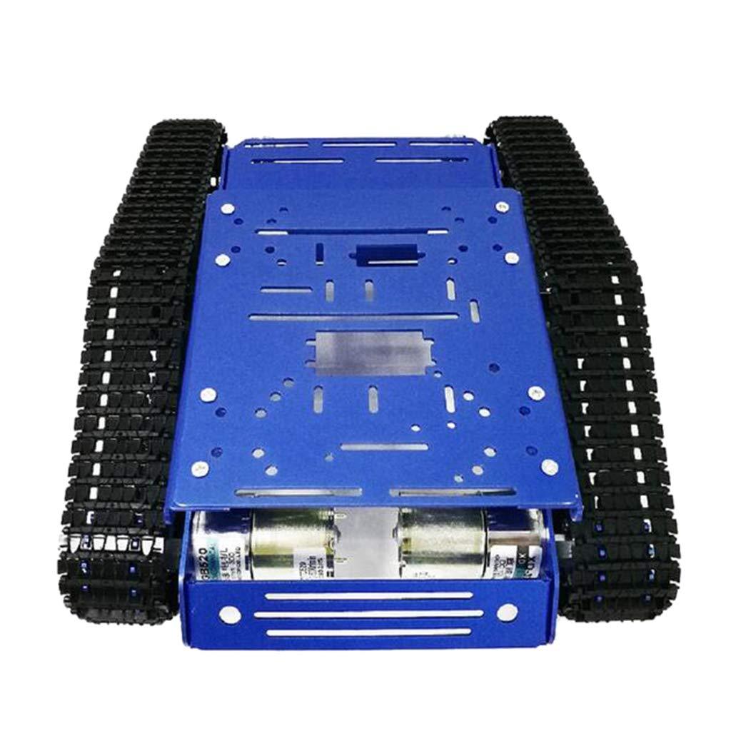 新しい季節 KESOTO B07QMZFPDL タンク型 モバイルプラット フォーム - タンク シャシ一 DIY 全3種 約300x240x122mm KESOTO - コードホイールなし12Vモーター コードホイールなし12Vモーター B07QMZFPDL, コレコレ!:e275d687 --- rsctarapur.com
