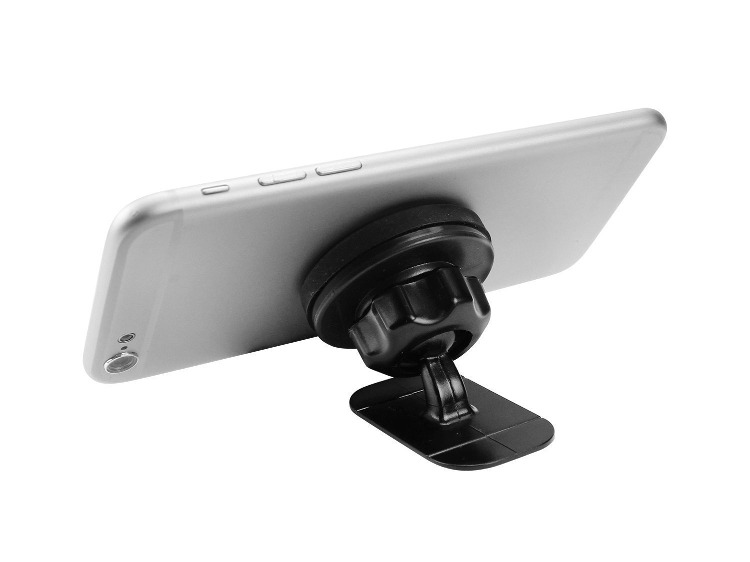 Magna Mount Smart Cell Phone Car Mount Magnetic Dashboard Holder compatible for iPhone, Android, Samsung, GPS, iPad, Tablets