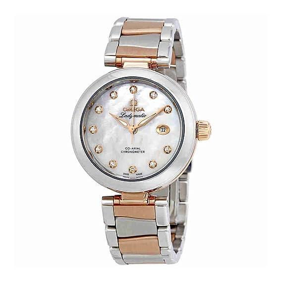 OMEGA DE Ville Reloj DE Mujer AUTOMÁTICO 34MM 425.20.34.20.55.004: Amazon.es: Relojes