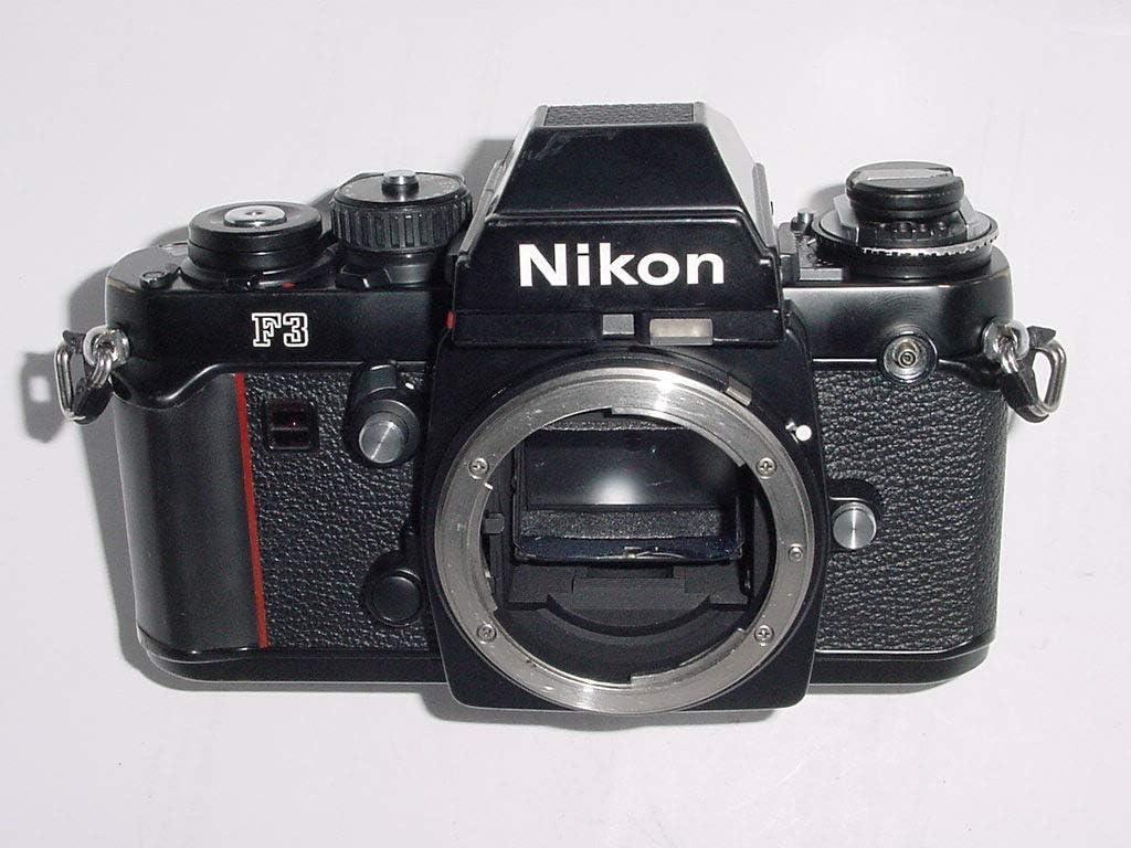 Nikon F3 Película de 35 mm SLR Cámara Cuerpo sólo: Amazon.es ...