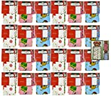 """Set of 24 - 36"""" x 44"""" Giant Gift Bags With Tag - 3 Christmas Themes and Colors Including Pink, Blue, and White!"""