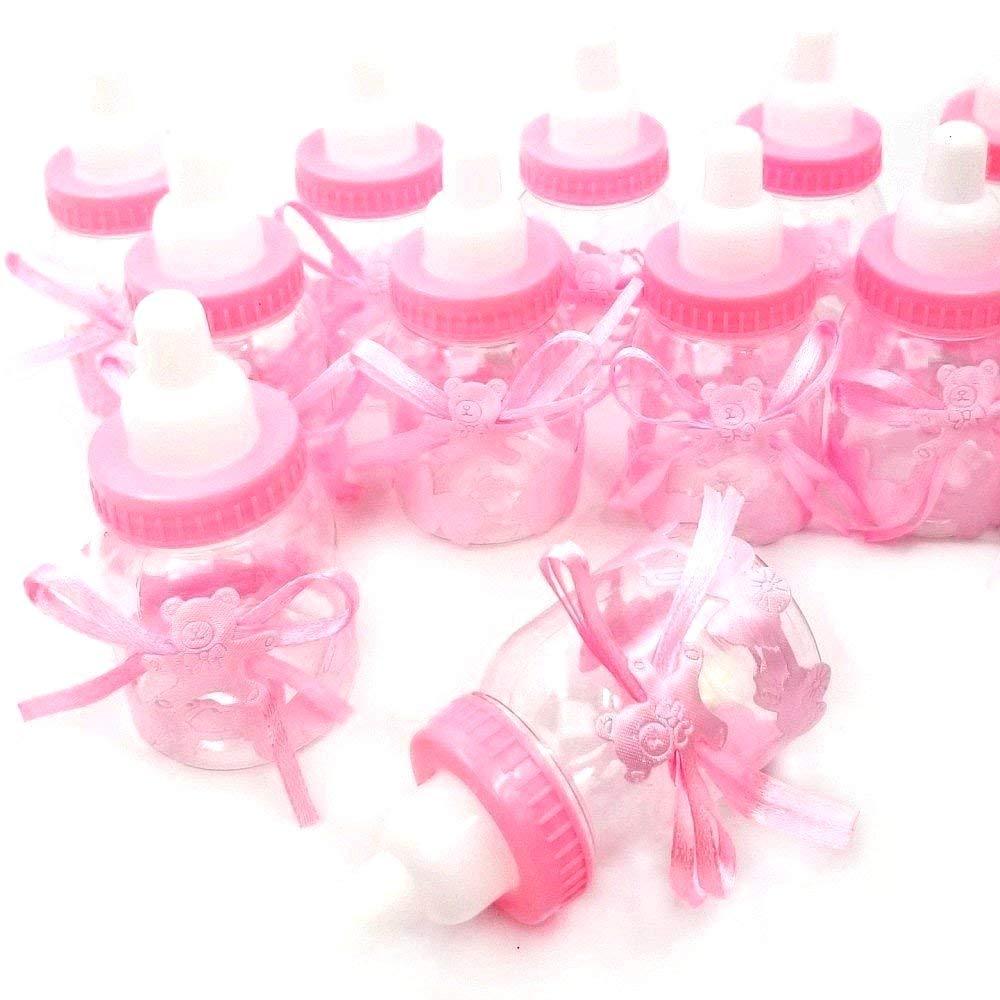 24 x Milchflasche Geschenk Box Baby-Süßigkeit für Jungen Shower Babydusche