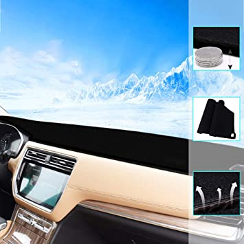 Car Dash Cover Dashboard Dashmat Mat Carpet for Volkswagen VW Passat 2011-2015