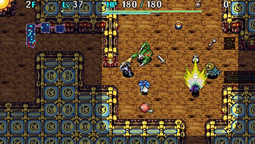 Shiren The Wanderer: The Tower of Fortune and the Dice of Fate - PlayStation Vita by Aksys (Image #4)