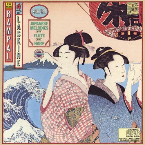 Sakura - Japanese Melodies for Flute and Harp (Harp Flute Music)
