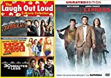 Comedy Turned Action Movie Set: Pineapple Express, Zombieland, Not Another Teen Movie, 30 Minutes or Less- 4-DVD Double Feature Bundle