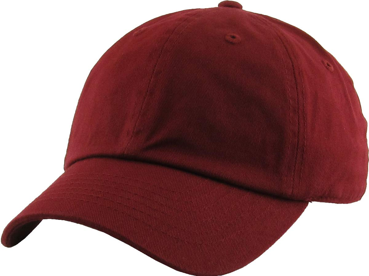 Funky Junque H-100kids-64 Kids Baseball Cap - Burgundy (2-5) by Funky Junque