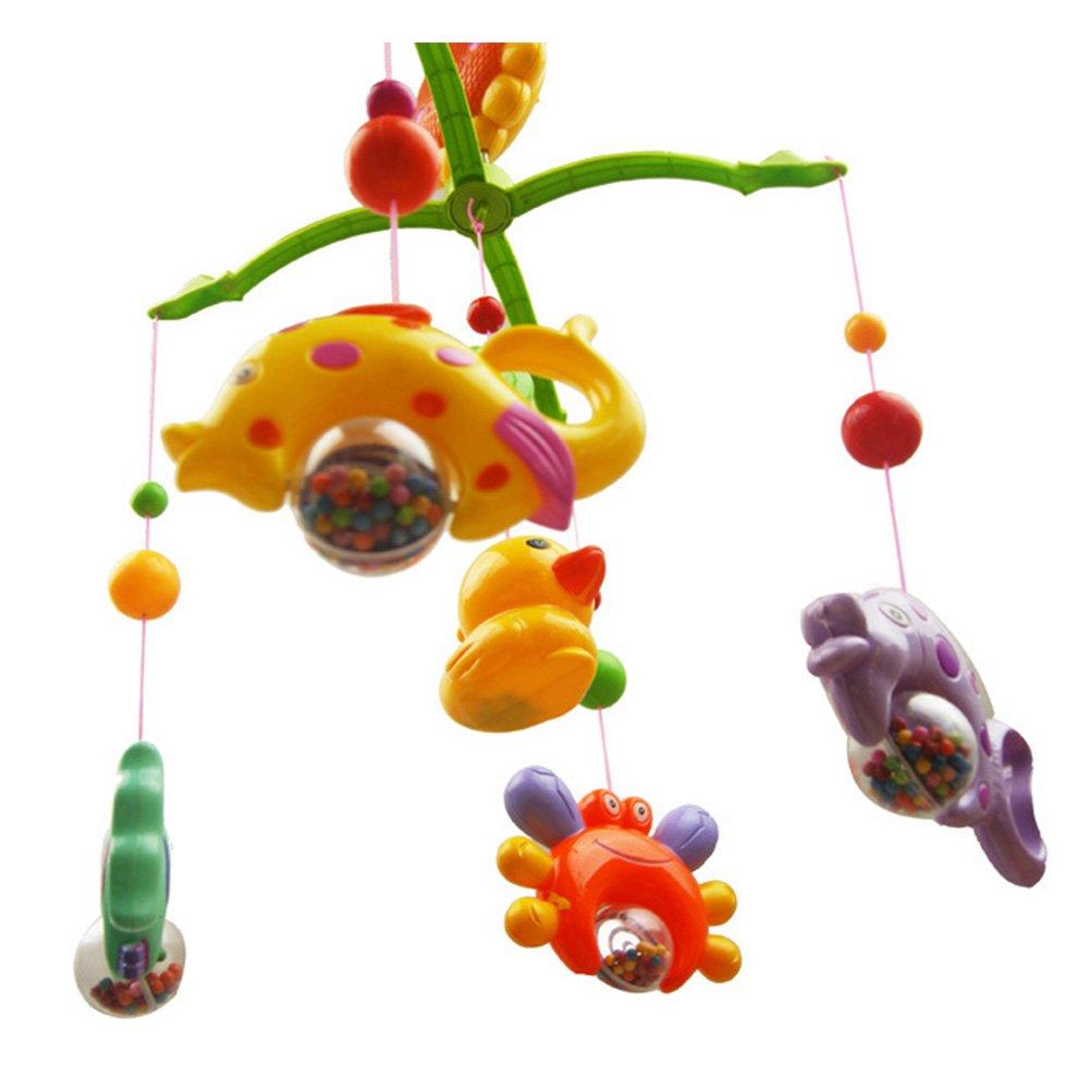 Campana para colgar con diseño de cuna musical para bebés de 0 a 2 ...