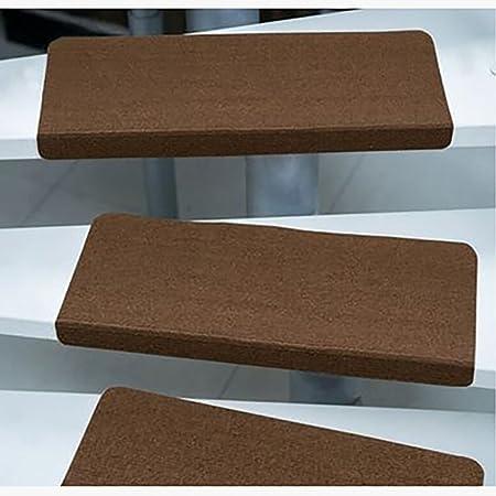 Lldaily Almohadilla para escalera con autoadhesivo, antideslizante, antideslizante, de goma, 55,88 x 22,86 cm: Amazon.es: Hogar