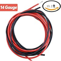 TILY 14 Gauge Silicone Wire 13.2 pies [6.6