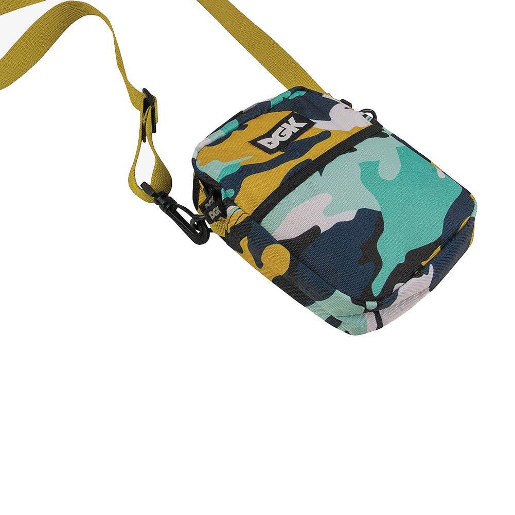 DGK Mens Ruckus Shoulder Bag Multi-Color