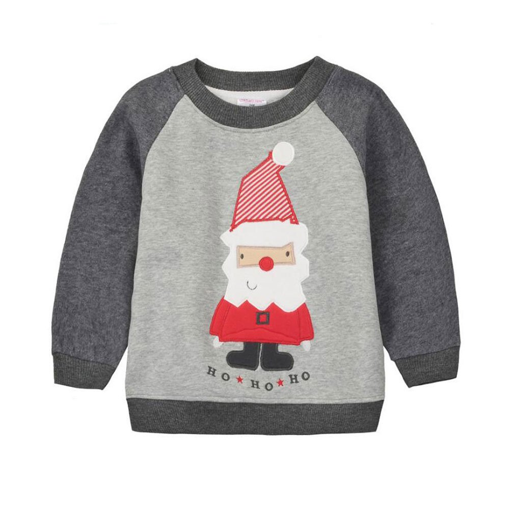 CuteOn Bébé Sweat-shirt - Manche longue Noël Modèle Manche longue Pullover Chemise