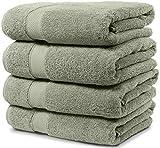 4 Piece Bath Towel Set. 2017