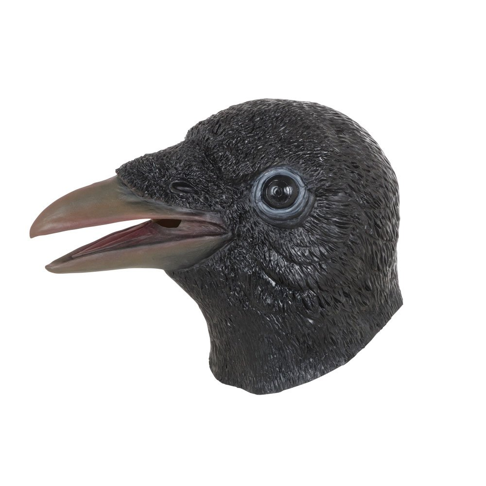Bristol Novelty bm536 Cuervo máscara, Talla única: Amazon.es: Juguetes y juegos