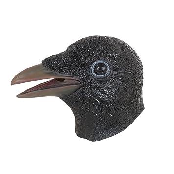 Bristol Novelty bm536 Cuervo máscara, Talla única