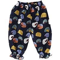 Weixinbuy Little Kids Baby Clothes Elastic Waist Pull-on Pants Bloomer Trouser for Girls Boys