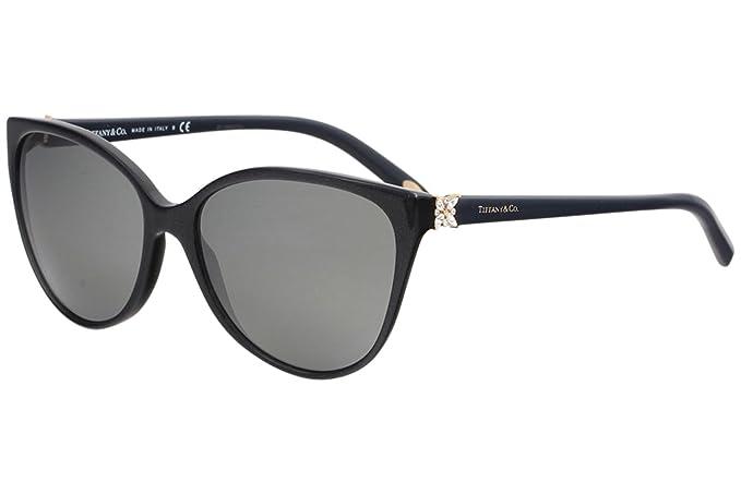 5678952eac TIFFANY Women's 4089B 0TY4089B 82116G 58 Sunglasses Pearl  Grey/Greymirrorsilver