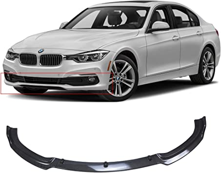 Steel Outter Rear Bumper Plate Guard Cover Trim For BMW 3 Series F30 2013-2017