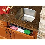 Rev-A-Shelf 6541-31-52 31-Inch Stainless Steel Tip Out Tray