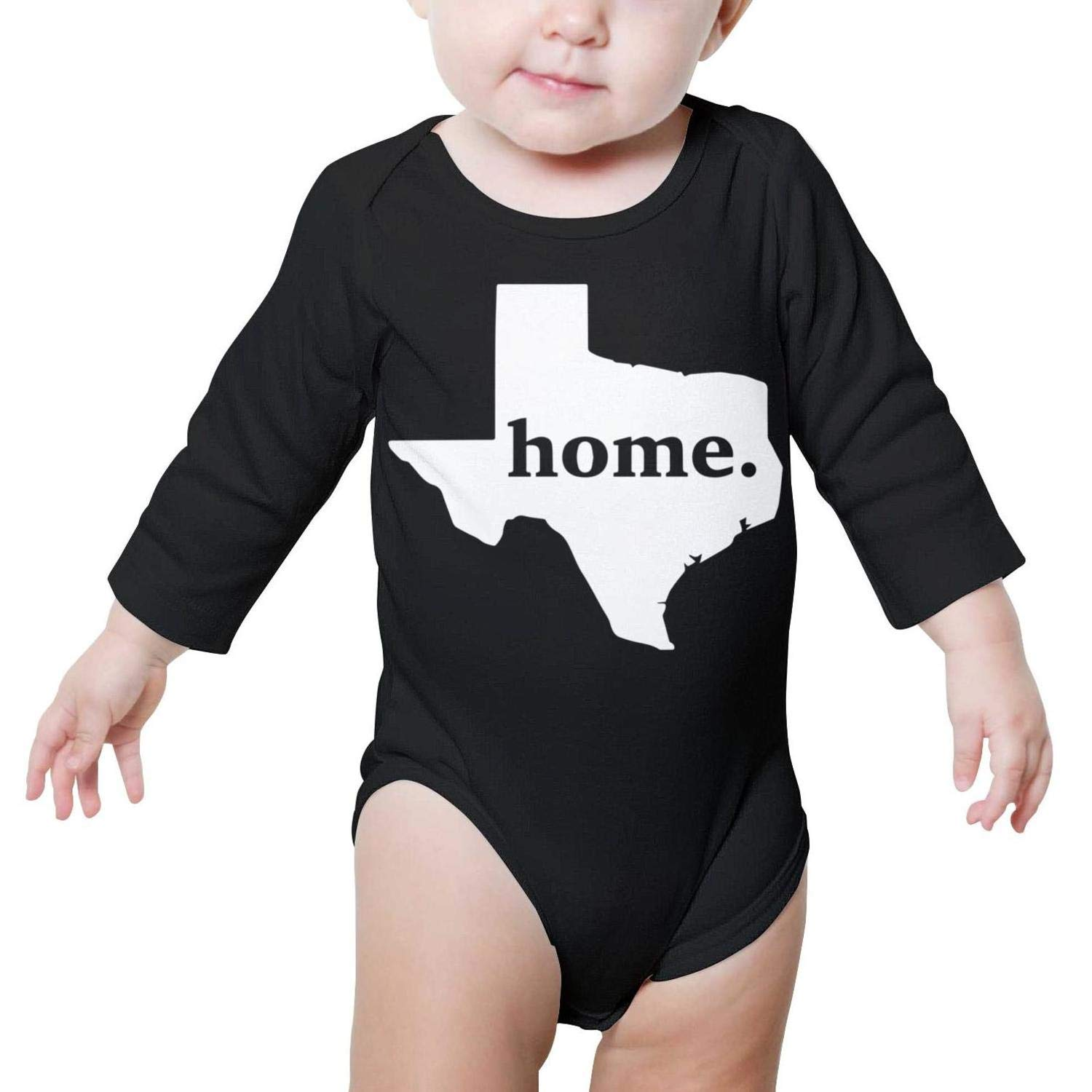 Home Texas Baby Onesie Clothing Long Sleeve Neutral Cotton Unique