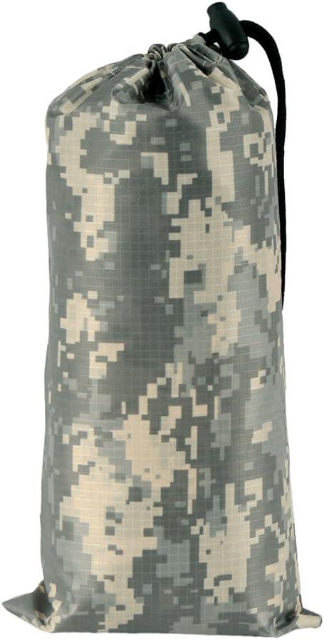 jayslim Multifonction durgence Camouflage Poncho Imperm/éable/-/L/éger Slicker Ripstop Pluie/-/Id/éal la Randonn/ée de Chasse Camping
