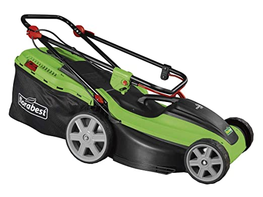 Florabest FRM - Cortacésped eléctrico (Motor Turbo de 1800 W ...