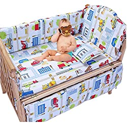Baby Boy's Truck Crib Bedding Set