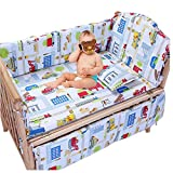 Baby Kids Nursery Bedroom Bedding Range Cot Quilt Bumper Cushion Set