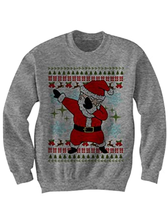 celebrity cotton dabbing santa christmas sweater santa dabbin ugly sweaters gifts at amazon womens clothing store