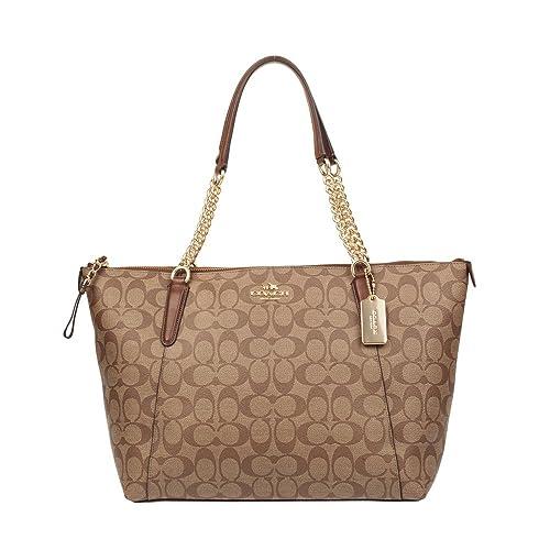 Amazon.com: Coach para mujer mano bolsa de hombro f23526 ...