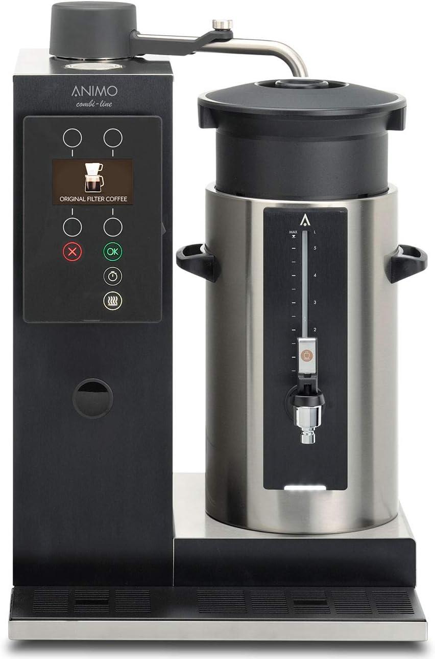 Animo Cafetera Eléctrica Combi Line CB 1 x 5 l/r: Amazon.es: Hogar