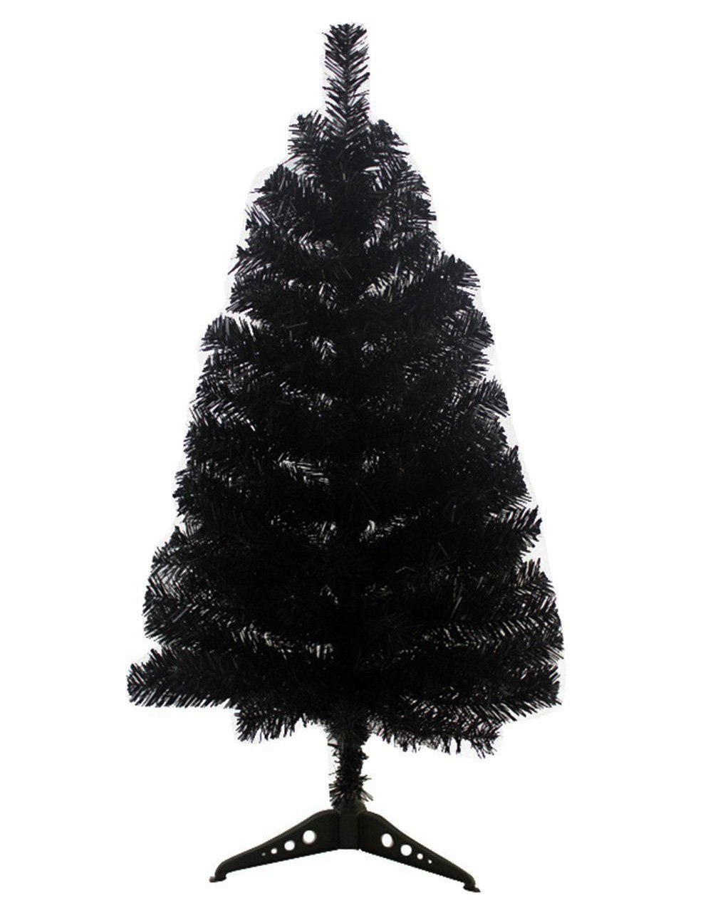 FENFEN 1.9/2.9 Foot Premium Spruce Hinged Artificial Christmas Tree Stand (Black, 60CM)