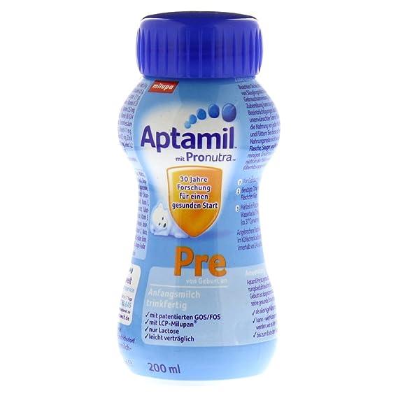 Aptamil Fórmula Infantil Pre, listo para beber, 200ml