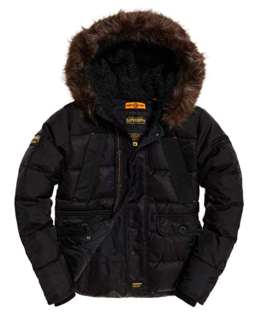 Amazon.com: Superdry Chaqueta de parka para hombre, color ...